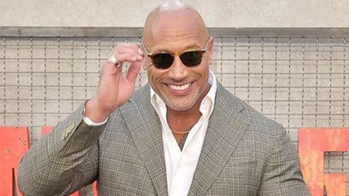 Dwayne Johnson, uno de los actores calvos más conocidos