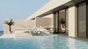 Una de sus habitaciones con piscina privada