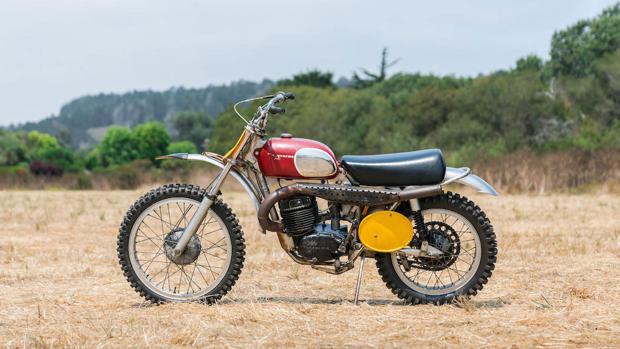 La moto era uno de los mejores modelos de su época