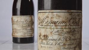 El vino más caro del mundo ya no es español