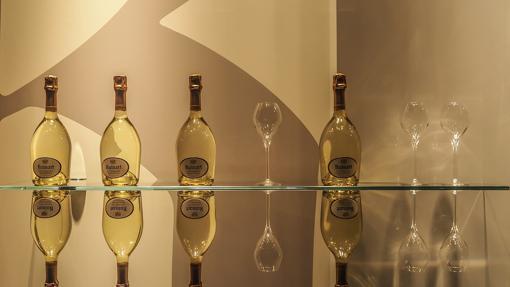 Los diferentes formatos del champagne tienen nombres de reyes de épocas remotas