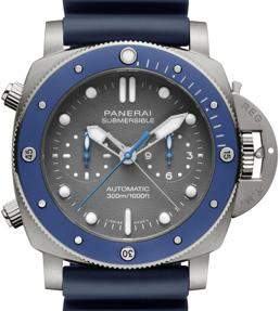 Submersible Chrono – Guillaume Néry Edition de Officine Panerai