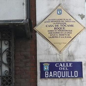 Placa del inmueble
