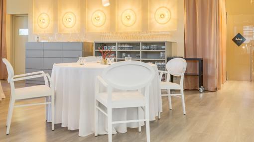 La sala del restaurante Audrey´s en Calpe