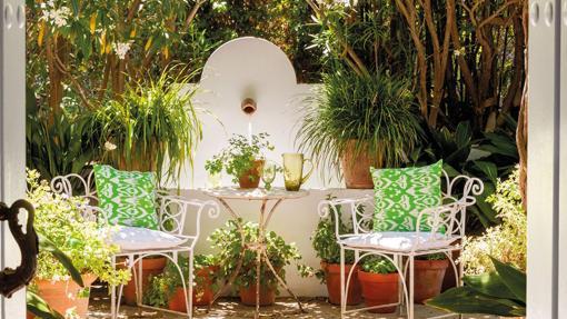 Recordar los patios andaluces, de inspiración árabe