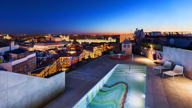 Terrazas 2019 Las Mejores Terrazas De Madrid Están En Un Hotel