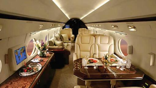 Gulfstream IV de Tom Cruise
