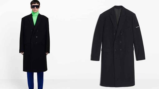 Abrigo de lana virgen (1.995 euros).