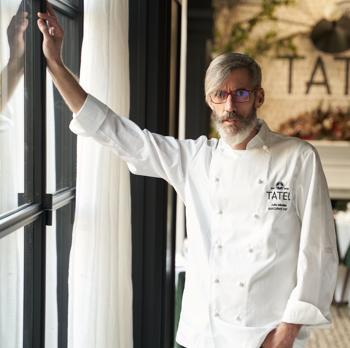 Julio Miralles, new executive chef of Tatel