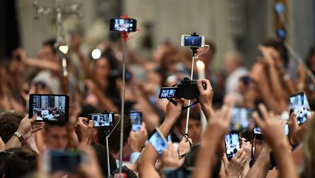 Diferentes modelos de teléfonos móviles