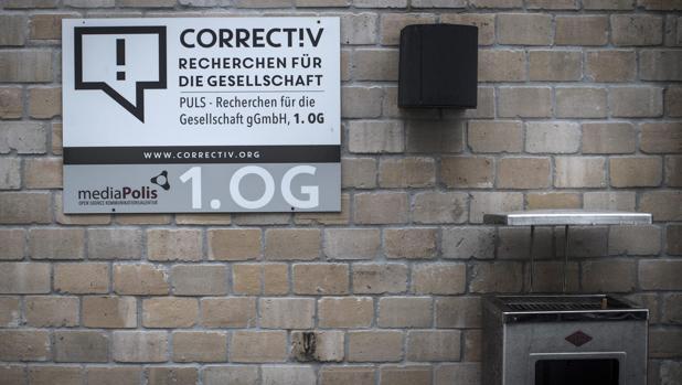 Oficina de Correctiv en Berlín, el portal de periodismo de investigación que se encargará de cotejar las informaciones que se publican en la red social