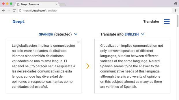 Cuál es el mejor servicio de traducción online? DeepL quiere