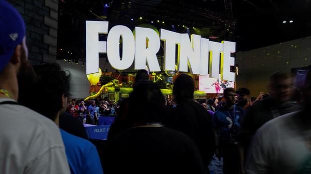 El stand de «Fortnite» durante la feria E3