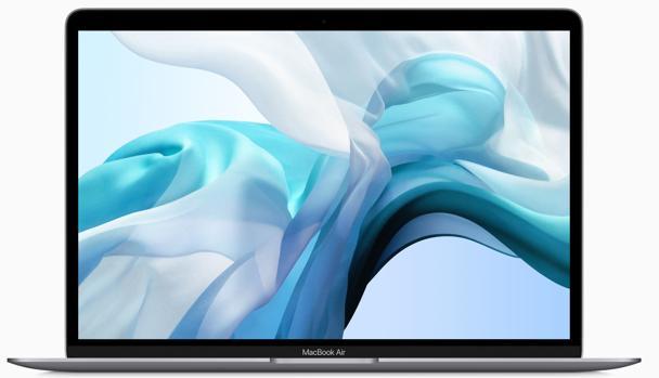 Detalle del nuevo modelo de MacBook Air