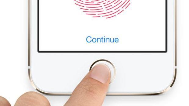 Detalle de la tecnología de huellas dactilares presente en algunos modelos de iPhone