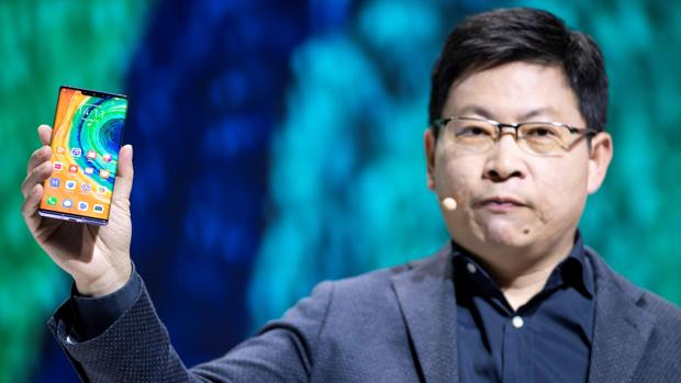 Richard Yu, responsable de Huawei Consumer Business Group, durante su presentación