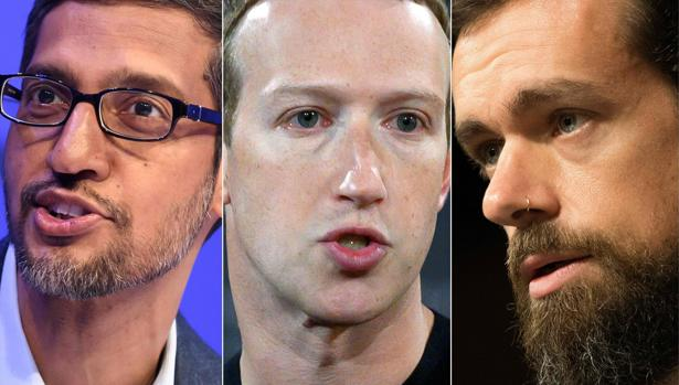 EE.UU. cerca a Google, Facebook y Twitter por su posible influencia en las elecciones