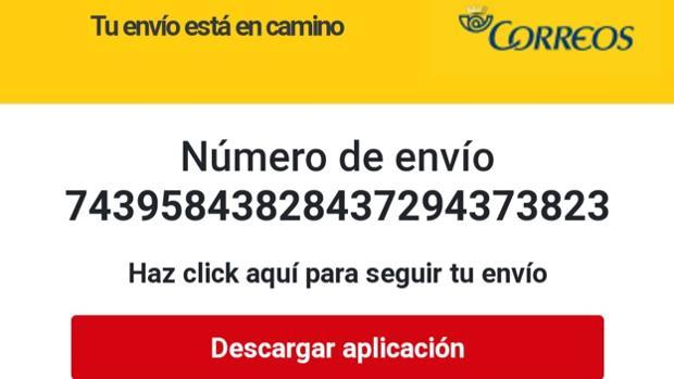 Así funciona la estafa por SMS en la que suplantan a Correos para robarte el dinero