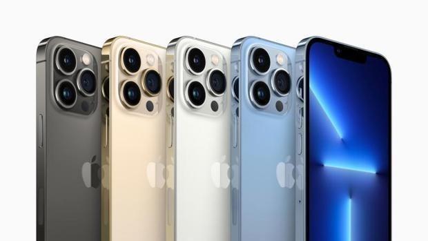 Estos son los colores del nuevo iPhone 13 Pro