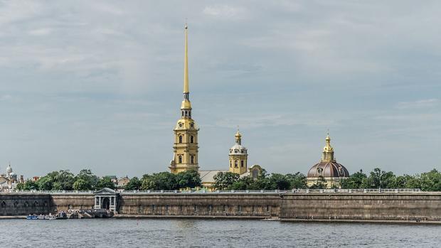 Fortaleza de San Pedro y San Pablo, en San Petersburgo