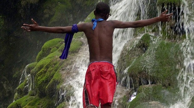 Saut d'Eau, en Haití