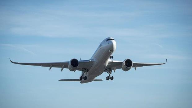 Airbus A350 ULR, en pleno vuelo