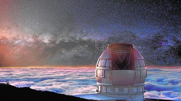 El Gran Telescopio Canarias, inaugurado en el verano de 2009
