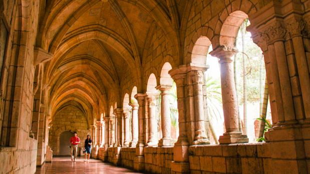 El claustro del antiguo monasterio de Sacramenia (Segovia) en North Miami Beach