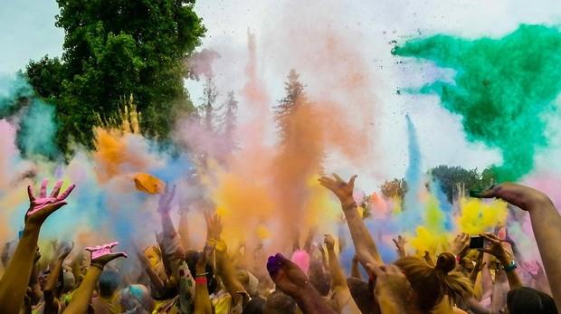 Holi Festival, en la India