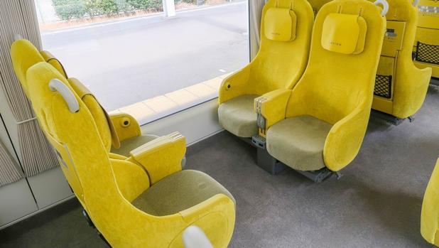 Así es el tren del futuro que recorre Japón