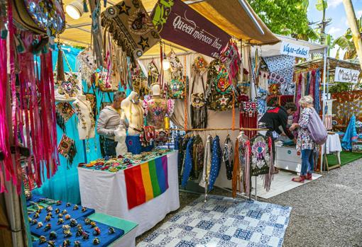 Las Dalias market, in Ibiza