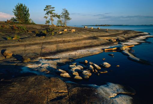 The Saimaa Geopark is located in southeastern Finland