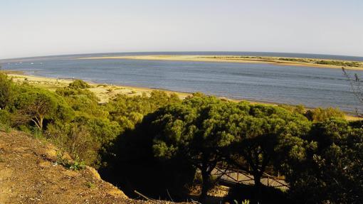 Arrow of El Rompido, in Huelva