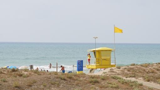 Watchtower at Playa Roberta